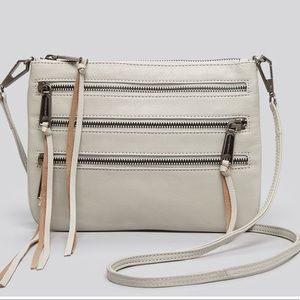 Rebecca Minkoff Gray Crossbody 3 Zipper